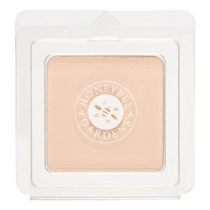 Mother Nature's Best Market Honeybee Gardens Pressed Mineral Powder Foundation Color Avignon Cruelty-Free, Gluten-Free, Reusable, Recyclable, Vegan