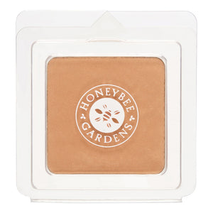 Mother Nature's Best Market Honeybee Gardens Pressed Mineral Powder Foundation Color Fiji Cruelty-Free, Gluten-Free, Reusable, Recyclable, Vegan