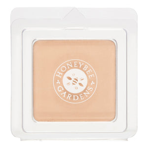 Mother Nature's Best Market Honeybee Gardens Pressed Mineral Powder Foundation Color Luminous  Cruelty-Free, Gluten-Free, Reusable, Recyclable, Vegan