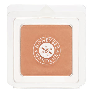 Mother Nature's Best Market Honeybee Gardens Pressed Mineral Powder Foundation Color Montego Cruelty-Free, Gluten-Free, Reusable, Recyclable, Vegan