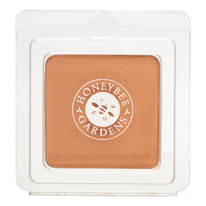 Mother Nature's Best Market Honeybee Gardens Pressed Mineral Powder Foundation Color Sundance Cruelty-Free, Gluten-Free, Reusable, Recyclable, Vegan