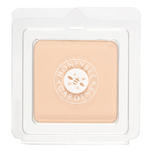 Mother Nature's Best Market Honeybee Gardens Pressed Mineral Powder Foundation Color Supernatural Cruelty-Free, Gluten-Free, Reusable, Recyclable, Vegan