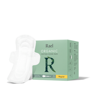 Mother Nature's Best Market Rael Organic Cotton Regular Pads Cruelty-Free, Vegan