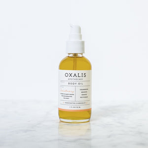 Mother Nature's Best Market Oxalis Apothecary Oxalis Body Oil: Sanctuary All-Natural, Cruelty-Free, Organic, Vegan