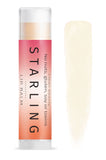 Mother Nature's Best Market Starling Skincare Clear Lip Balm All-Natural, Gluten-Free, Organic, Reusable, Recyclable