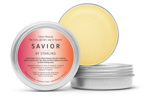 Mother Nature's Best Market Starling Skincare Savior Multitasking Balm All-Natural, Gluten-Free, Organic, Reusable, Recyclable