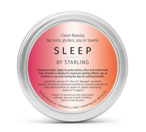 Mother Nature's Best Market Starling Skincare Sleep Balm All-Natural, Gluten-Free, Organic, Reusable, Recyclable