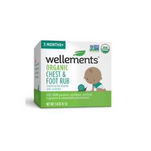 Wellements Organic Chest & Foot Rub