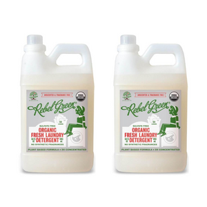 Rebel Green Fresh Laundry Detergent: Unscented x2 Bundle