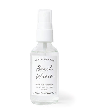 Mother Nature's Best Market Earth Harbor Naturals BEACH WAVES Ocean Hair Texturizer All-Natural, Cruelty-Free, Organic, Vegan
