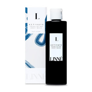 Mother Nature's Best Market LINNÉ ACTIVATE Exfoliating Body Wash Cruelty-Free, Organic