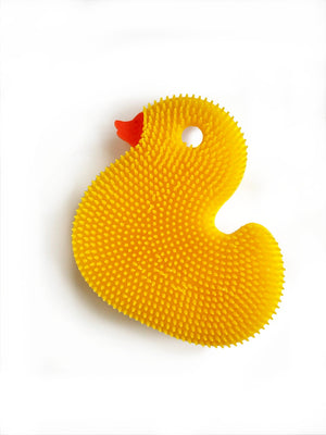 Mother Nature's Best Market New People Company Yellow Duck Squigee Cruelty-Free, Reusable/Recyclable