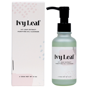 Mother Nature's Best Market Ivy Leaf Skincare Extract Purifying Oil Cleanser All-Natural, Cruelty-Free, Gluten-Free, Vegan