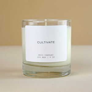 MOCO Candles CULTIVATE - Signature Blend Candle