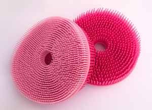Mother Nature's Best Market New People Company Pink Circle Squigee Cruelty-Free, Reusable/Recyclable