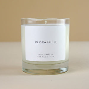 MOCO Candles FLORA HILLS Signature Blend Candle