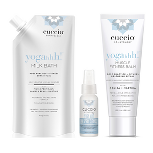 Mother Nature's Best Market Cuccio Somatology yogahhh! Trio Gift Set Cruelty-Free