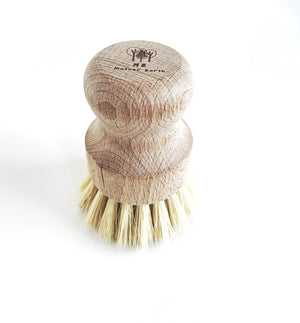Mother Nature's Best Market Me Mother Earth  Multipurpose Sisal + Wood Hand Brush Reusable/Recyclable