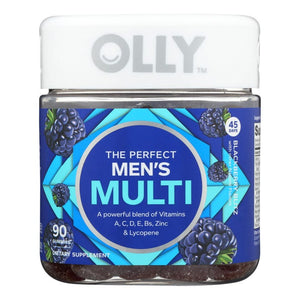 Mother Nature's Best Market Olly Mens Blackberry Mutli Vitamin Gluten-Free, Organic, Reusable/Recyclable