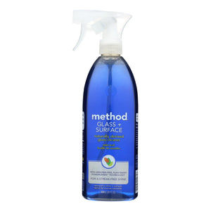 Mother Nature's Best Market Method Glass Cleaner: Mint Leaf Cruelty-Free, Reusable/Recyclable