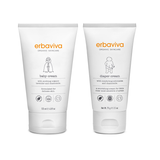 Erbaviva Baby Cream + Diaper Cream Bundle