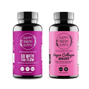 Happy Healthy Hippie Go With The Flow + Vegan Collagen Bundle