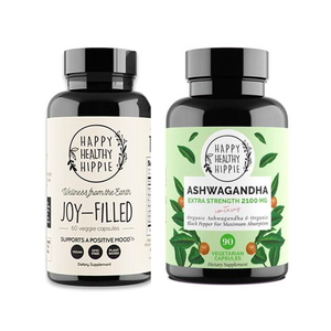 Happy Healthy Hippie Joy Filled + Organic Ashwagandha Bundle