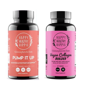 Happy Healthy Hippie Pump It Up + Vegan Collagen Bundle
