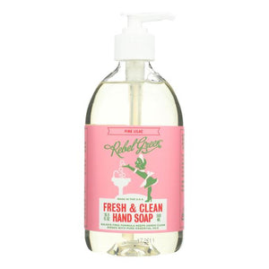 Mother Nature's Best Market Rebel Green Hand Soap: Pink Lilac Cruelty-Free, Organic, Reusable/Recyclable