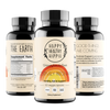Mother Nature's Best Market Happy Healthy Hippie Positively Pregnant All-Natural, Cruelty-Free, Gluten-Free, Organic, Vegan