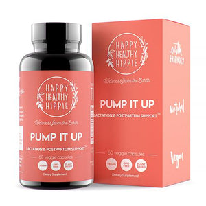 Mother Nature's Best Market Happy Healthy Hippie Pump It Up All Natural Cruelty Free Vegan