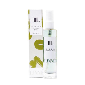 Mother Nature's Best Market LINNÉ REFRESH Mineral Face Mist Cruelty-Free, Organic