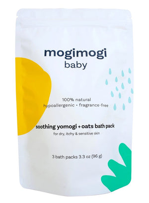 Mother Nature's Best Market mogi mogi baby Soothing yomogi and Oatmeal 3-in-1 Bath Treatment All-Natural, Cruelty-Free, Organic, Vegan