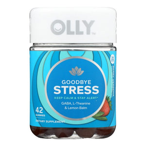 Mother Nature's Best Market Olly Berry Goodbye Stress Supplement Gluten-Free, Organic, Reusable/Recyclable