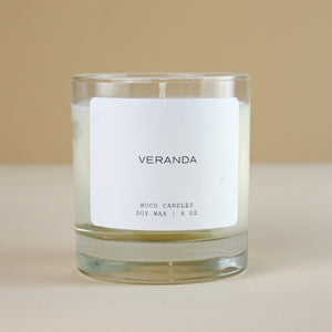 MOCO Candles VERANDA Signature Blend Candle