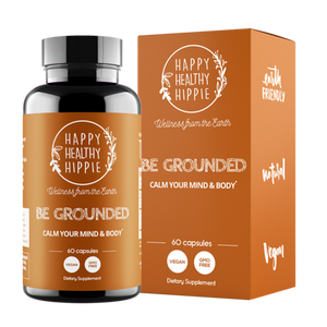Mother Nature's Best Market Happy Healthy Hippie Be Grounded All-Natural, Cruelty-Free, Organic, Vegan