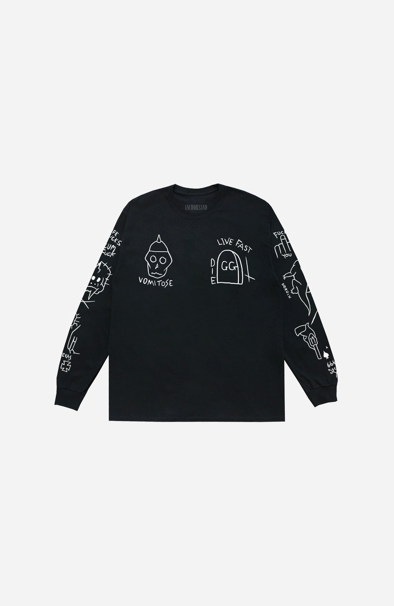 GG ALLIN LONG SLEEVE