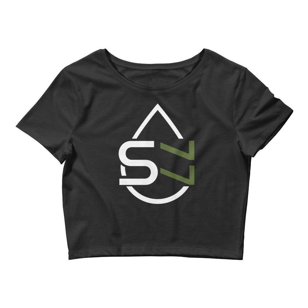 Sweat 77 Women's Crop Tee