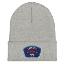 Load image into Gallery viewer, 77 PATCH Cuffed Beanie