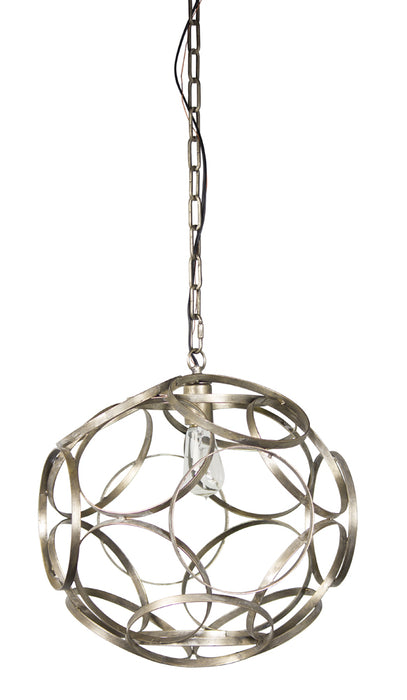 "Hanging Lamp 17""D Iron (Max 40W)"