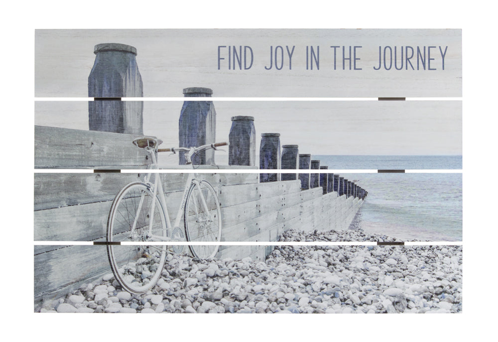 "Journey Plaque (Set of 2) 23.5"" x 16""H MDF"