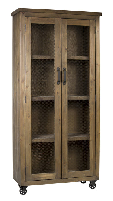 "Cabinet On Wheels 39.5""L x 16.5""W  x81.25""H Wood"
