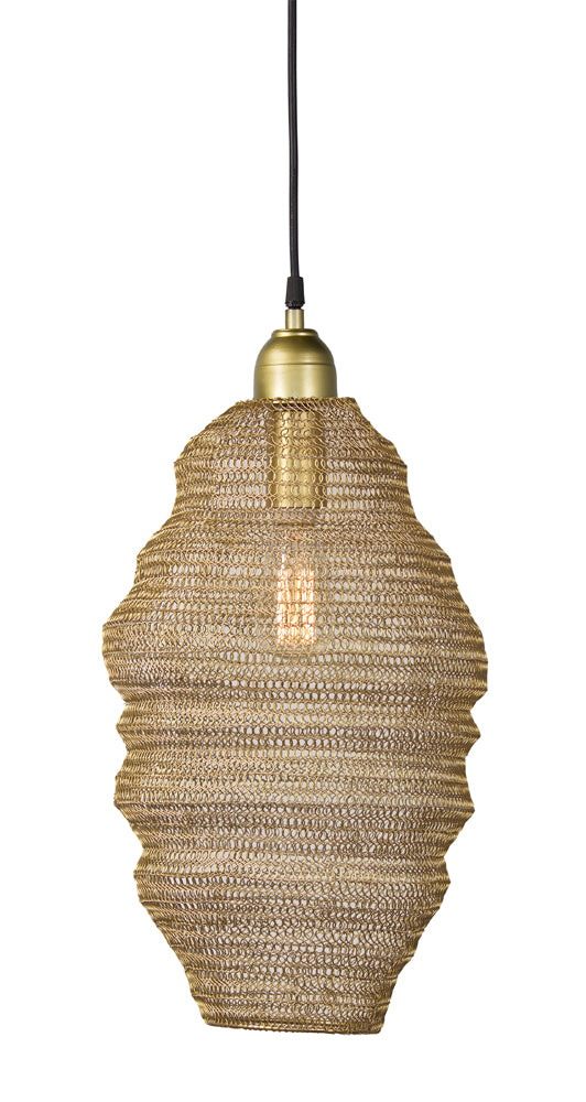 "Hanging Lamp 18.5""H Iron (Max 100W)"