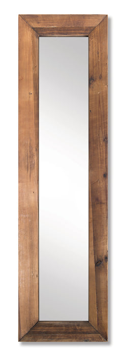 "Floor Mirror 67.5""H Wood/Mirror"