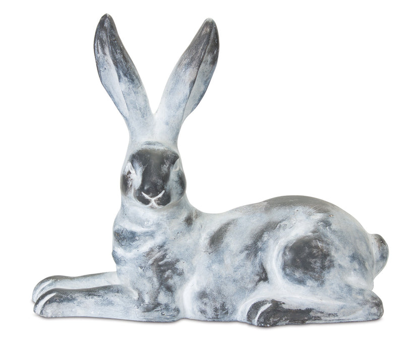 "Rabbit (Set of 2) 14"" x 12""H Gypsum"