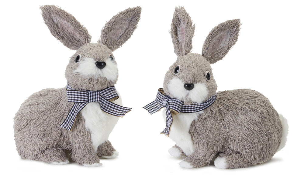 "Rabbit (Set of 4) 7.5""H Polyester/Foam"