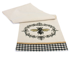 "Bee Table Runner (Set of 3) 13"" x 72""L Polyester"