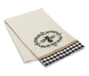 "Bee Tea Towel (Set of 6) 27.25"" x 17"" Polyester"