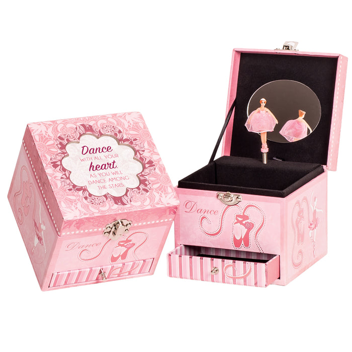 DANCE WITH HEART JEWELRY BOX