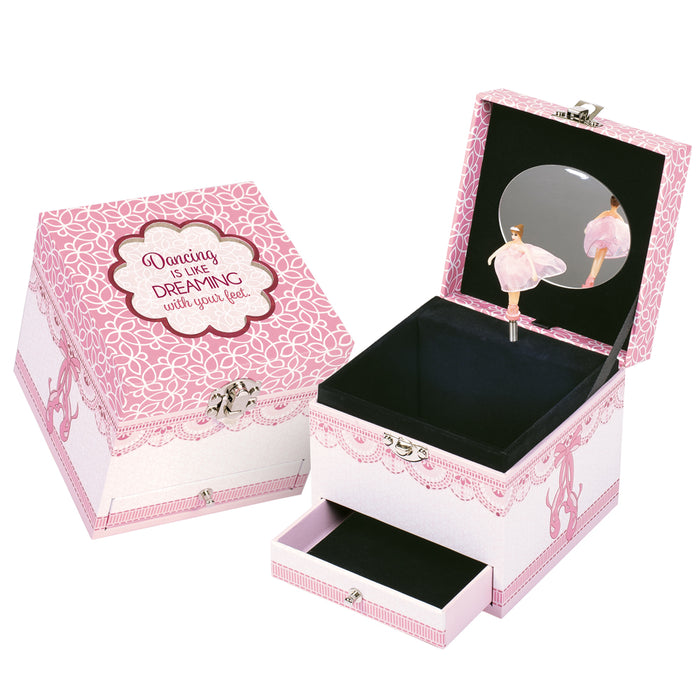 DANCING DREAMING JEWELRY BOX